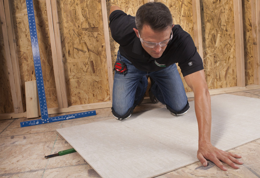 How To Install Hardiebacker Cement Board On Floors James Hardie Pros