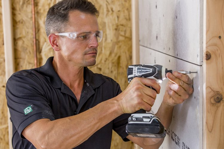 How To Install Hardiebacker Cement Board On Walls James Hardie Pros